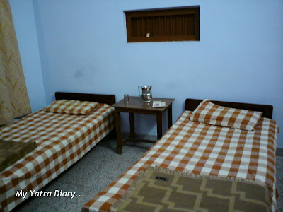 Room at the Swami Dayananda Ashram in Rishikesh