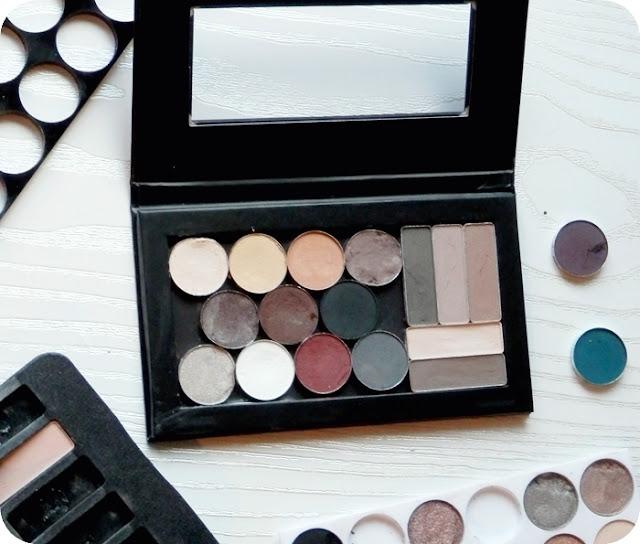 Paleta sombras ojos personalizada DIY