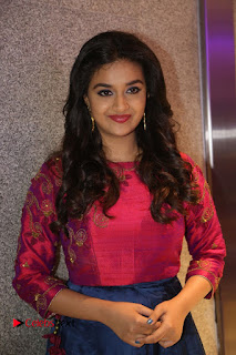 Actress Keerthi Suresh Stills at Remo Success Meet  0085.JPG