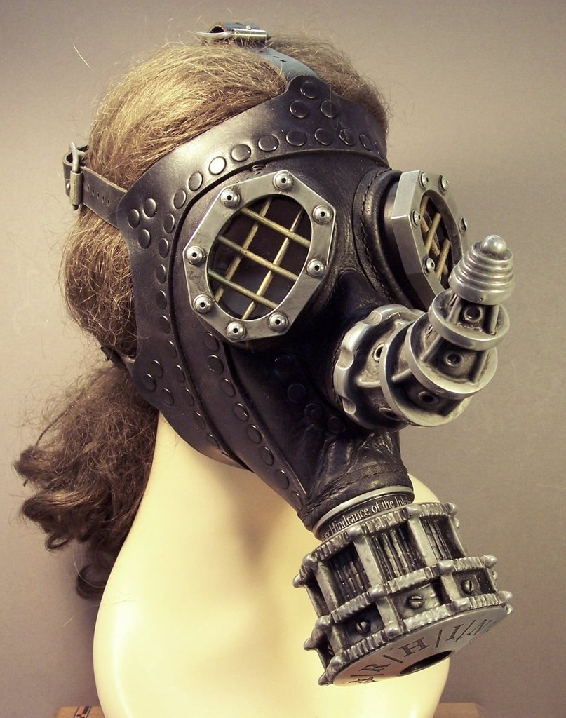 Steampunk Gas Masks Amp Helmets So Exquisite They Ll Leave