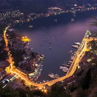 Porto of Kotor and marina Kotor