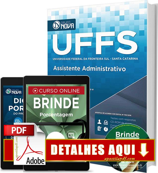 Apostila UFFS 2016 Assistente em Administração Impressa