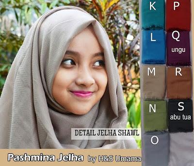 Model Jilbab Terbaru Pashmina H&S by Umama