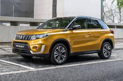 Suzuki Vitara (2019) Front Side