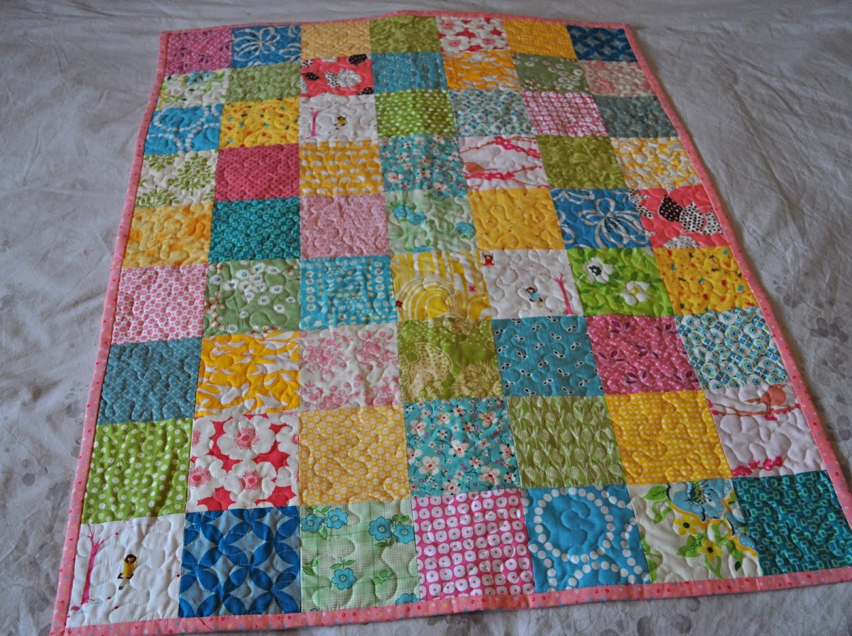 A Spring Baby Quilt and some thoughts