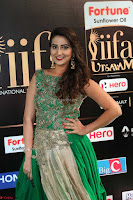Manjusha in Beautiful Sleeveless Green Anarkali dress at IIFA Utsavam Awards 105.JPG