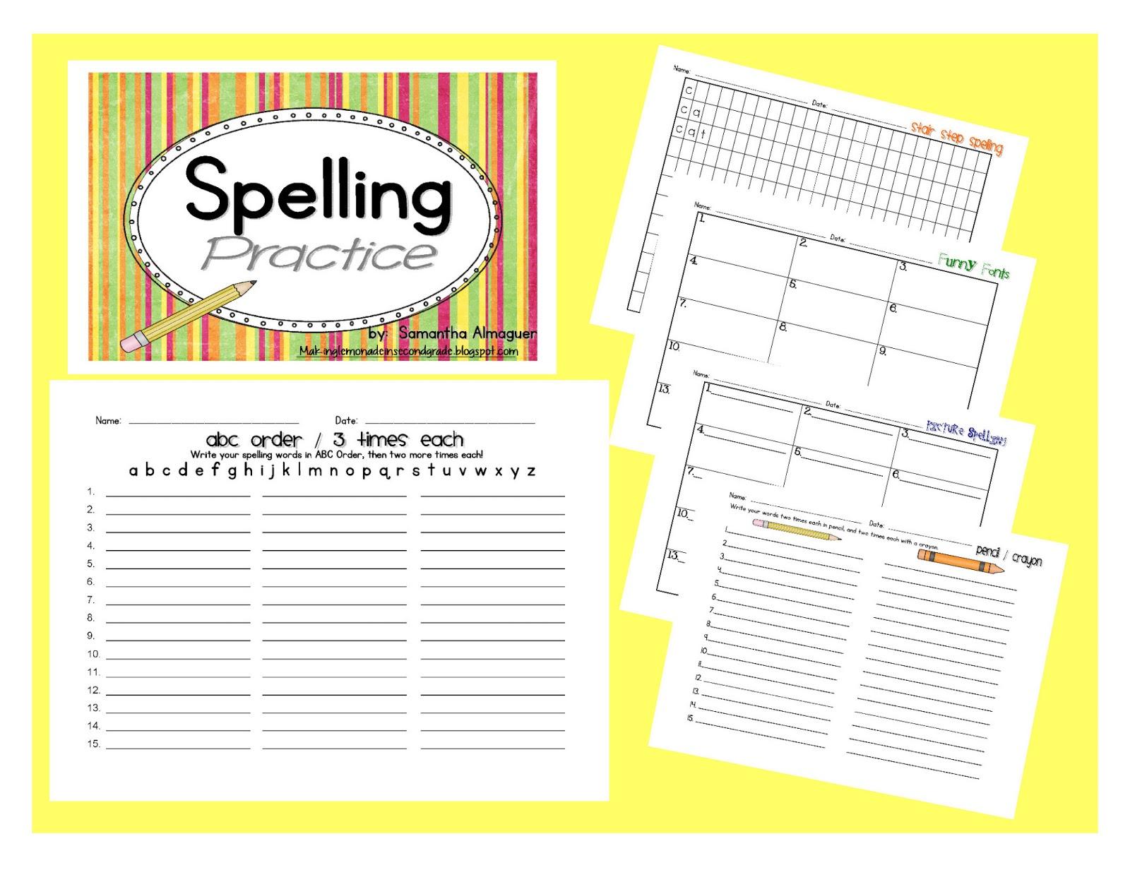 Trophies Spelling Practice Book Grade 6