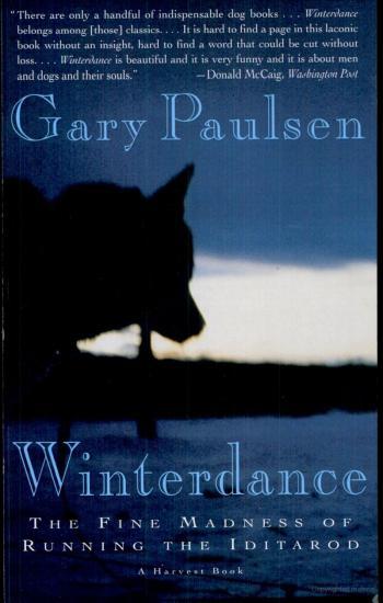 Winterdance by Gary Paulsen - book cover
