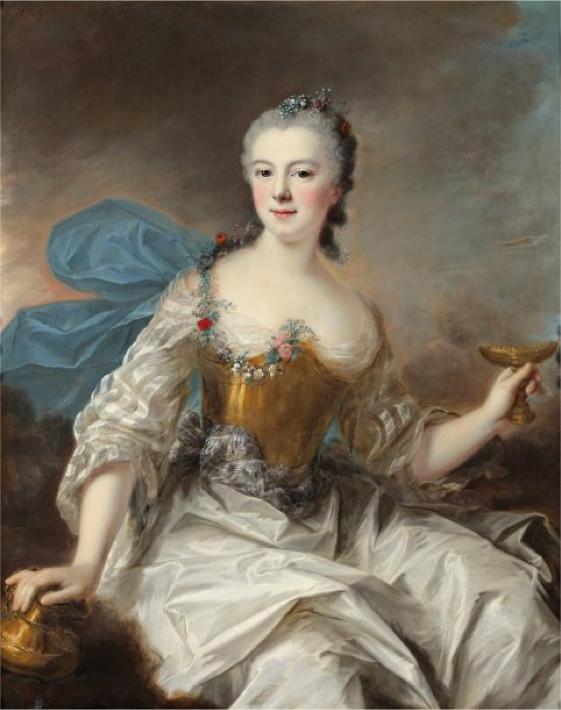 Portrait de Femme en Hébée, Marianne Loir
