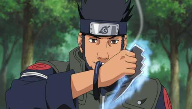 Karakter Anime Pengguna Pisau - Asuma Sarutobi
