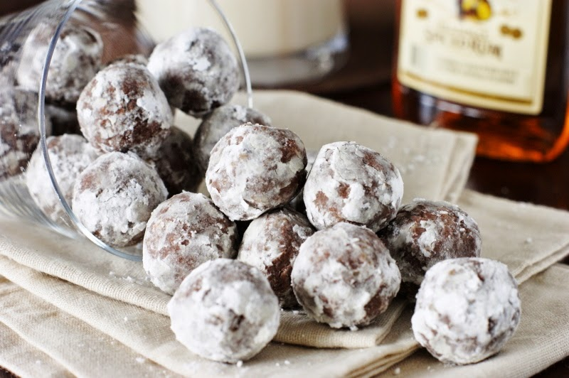 Rum Balls {with Spiced Rum} image