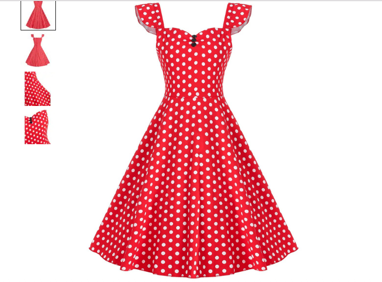 Vintage Spring Dresses-Dresslilly-MariEstilo
