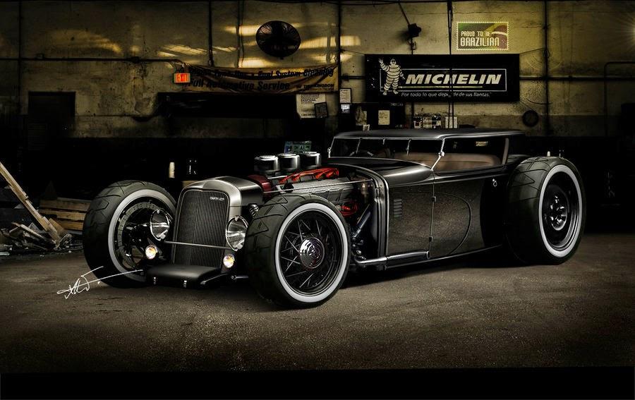 rat rod cars best - photo #38