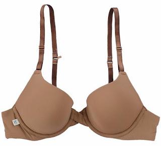 Plus size brown bra