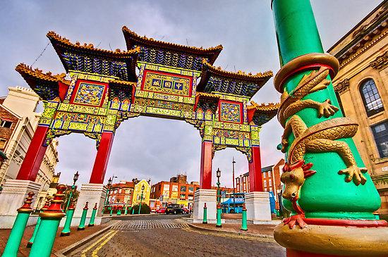 英國唐人街歷史