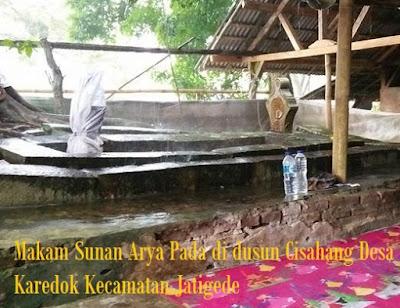 Apakah Sunan Pada adalah Prabu Nusiya Mulya?
