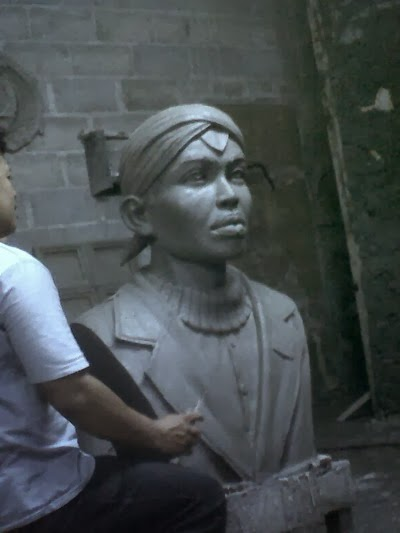 patung dada Jenderal Sudirman