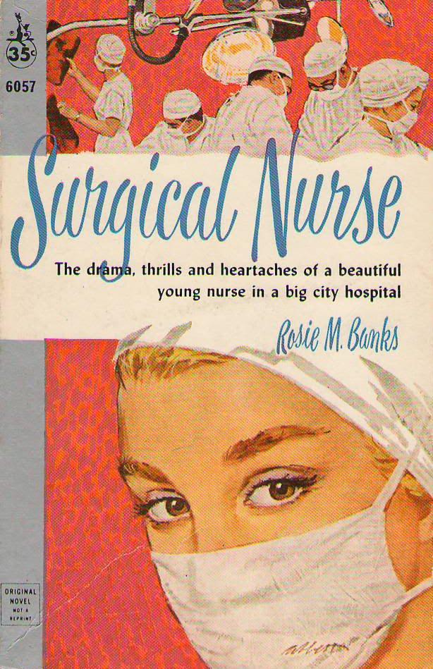 Vintage Nurse Romance Novels Surgical Nurse