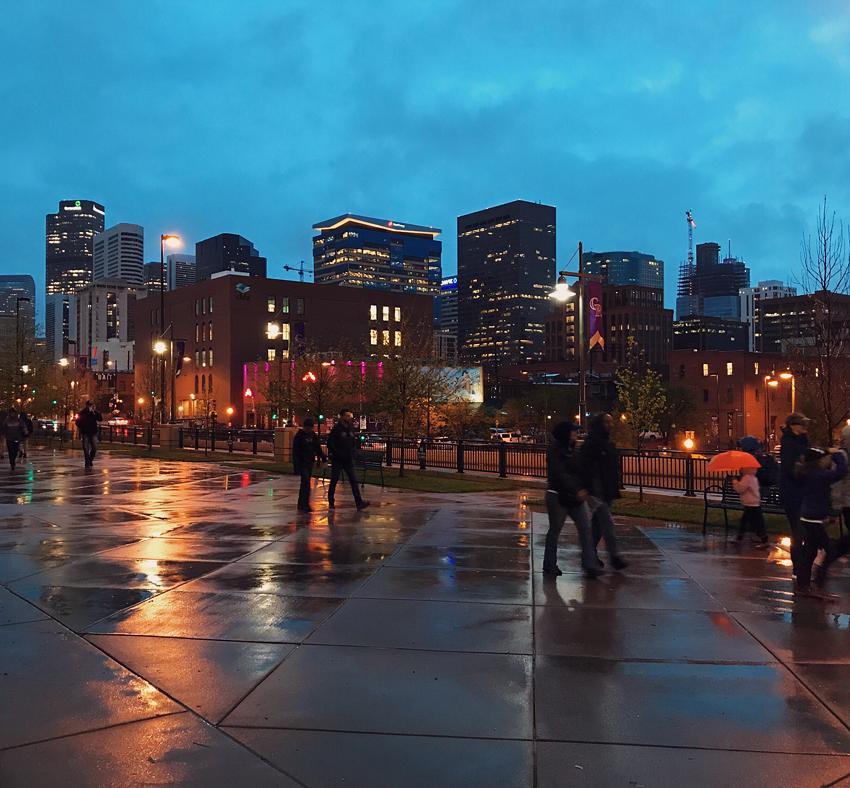 Night Time in Denver