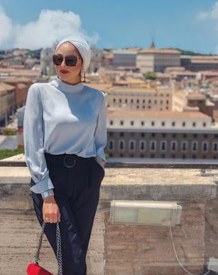 model hijab turban terbaru