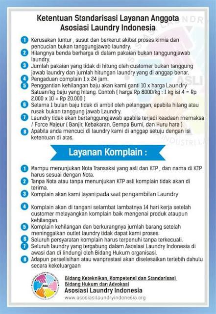Bintang Laundry Pamulang Tangerang Selatan September 2013