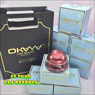 okaya beauty foundation cream to powder