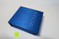 Verpackung: Ostan - Gotik 316L Edelstahl und Leder Armbänder für Herren - Neue Mode Schmuck Armschmuck, Schwarz