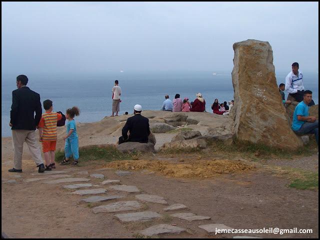 Promontoire pour voir l'Andalousie à Tanger