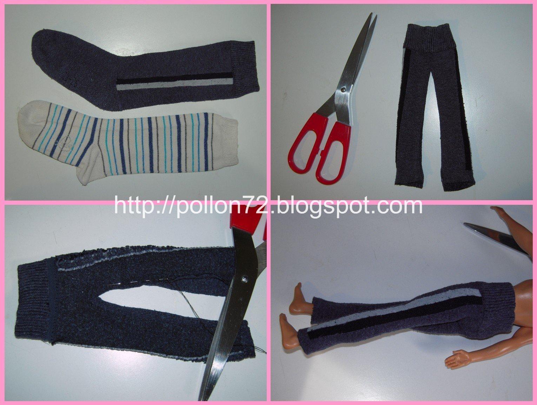 Per Steffi-Barbie invece ho creato pantaloni. Forse perchè io non indosso  mai la gonna 5b412f80c7f