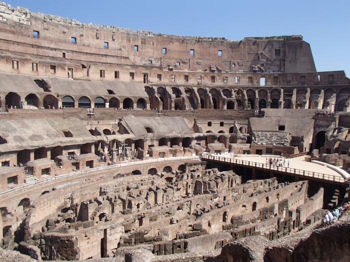 Koloseum w Rzymie - fot. Tomasz Janus / sportnaukowo.pl