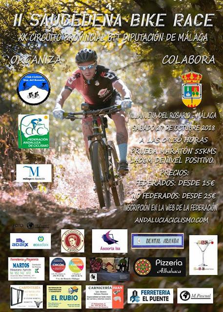 Saucedeña Bike Race Villanueva del Rosario 2018