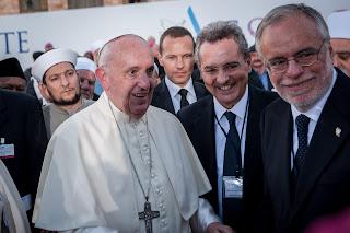 Papa Francesco, Andrea Riccardi, Marco Impagliazzo