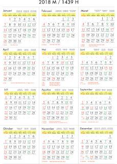 Kalender Hijriyah 1440 : kalender, hijriyah, Terbaru, Gambar, Kalender, Hijriah