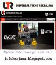 Lowongan Kerja PT Universal Tekno Reksajaya (UTR)