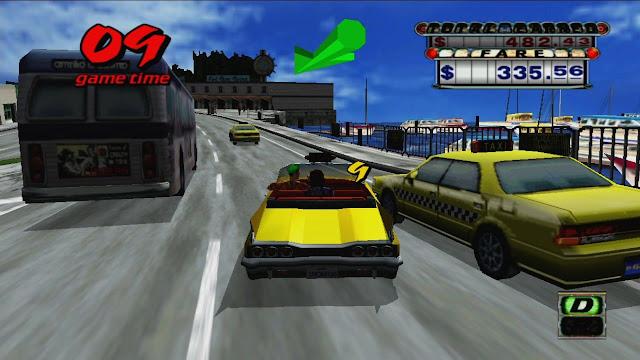 تحميل لعبة كريزي تاكسي للكمبيوتر القديمة برابط واحد مباشر