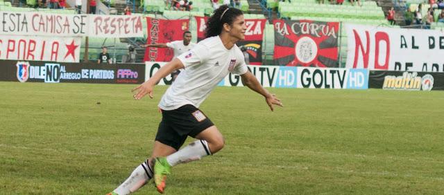Carabobo FC le ganó al Caracas FC en la reposición