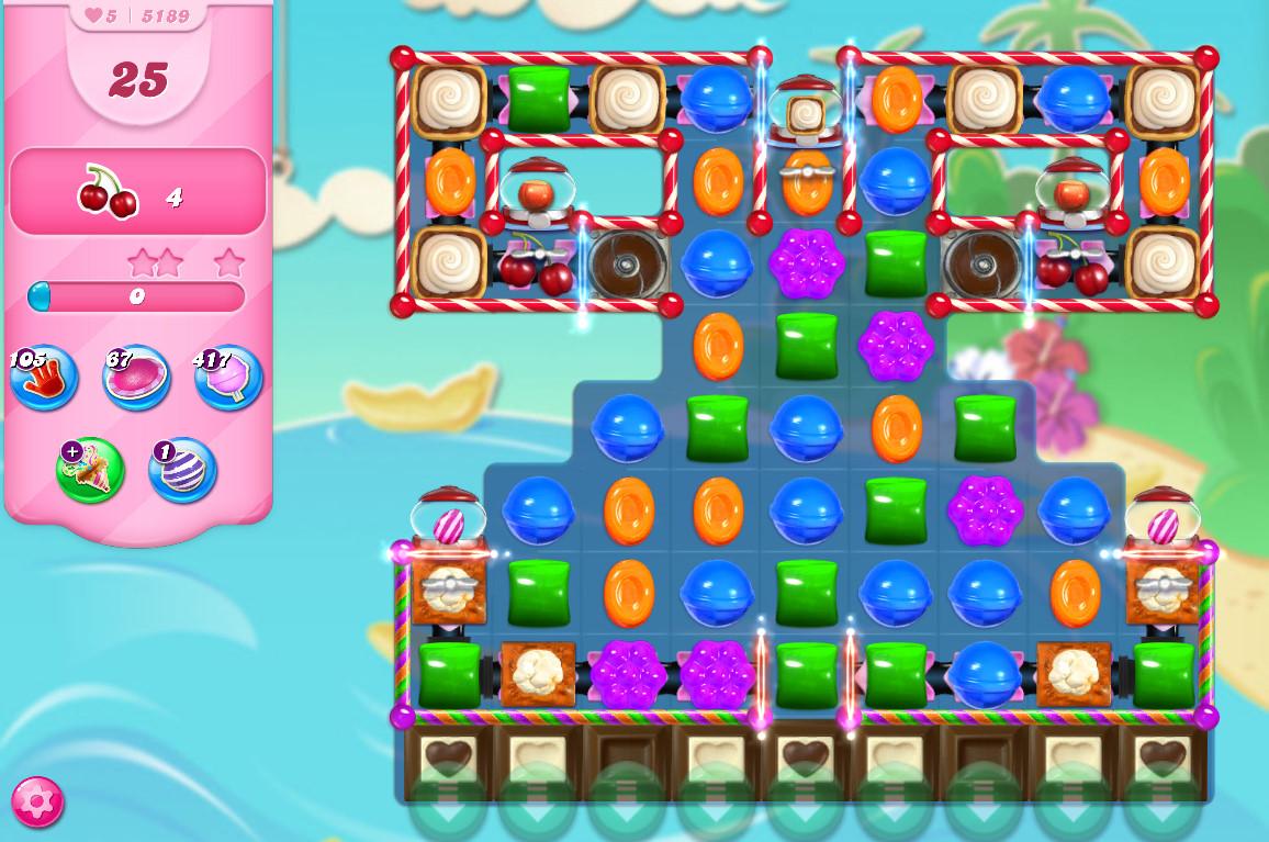 Candy Crush Saga level 5189
