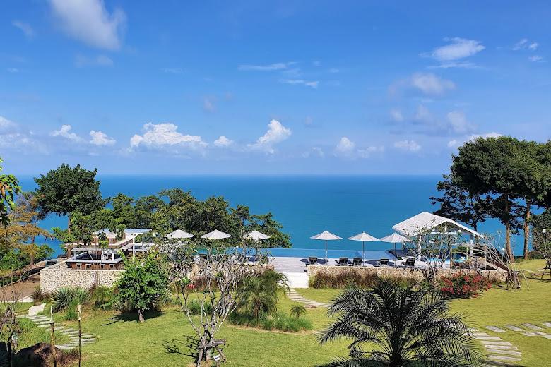 這次員工旅行在蘇美島的別墅 Koh-Koon