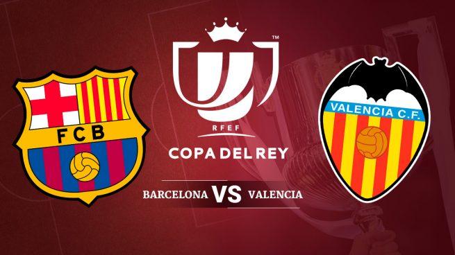 Copa Del Rey Semi Final Barcelona Vs Valencia