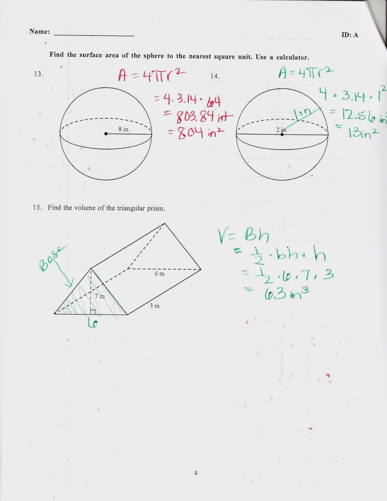 Ms. Jean's Classroom Blog: Chapter 10 Practice Test Answers