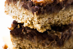 YUMMY  VEGAN MAGIC COOKIE BARS