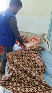 Pada Hari Megang Lembaga Peduli Dhuafa Kunjungi Pasien Dhuafa di Cut Mutia