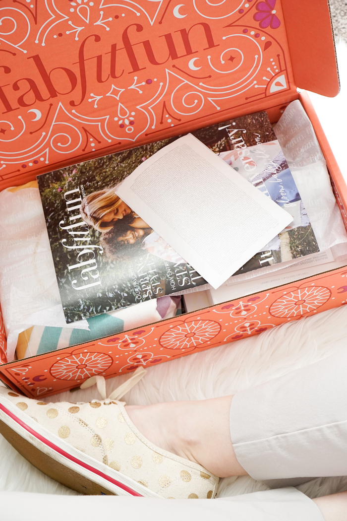 fab fit fun spring unboxing, fabfitfun review, fab fit fun coupon code