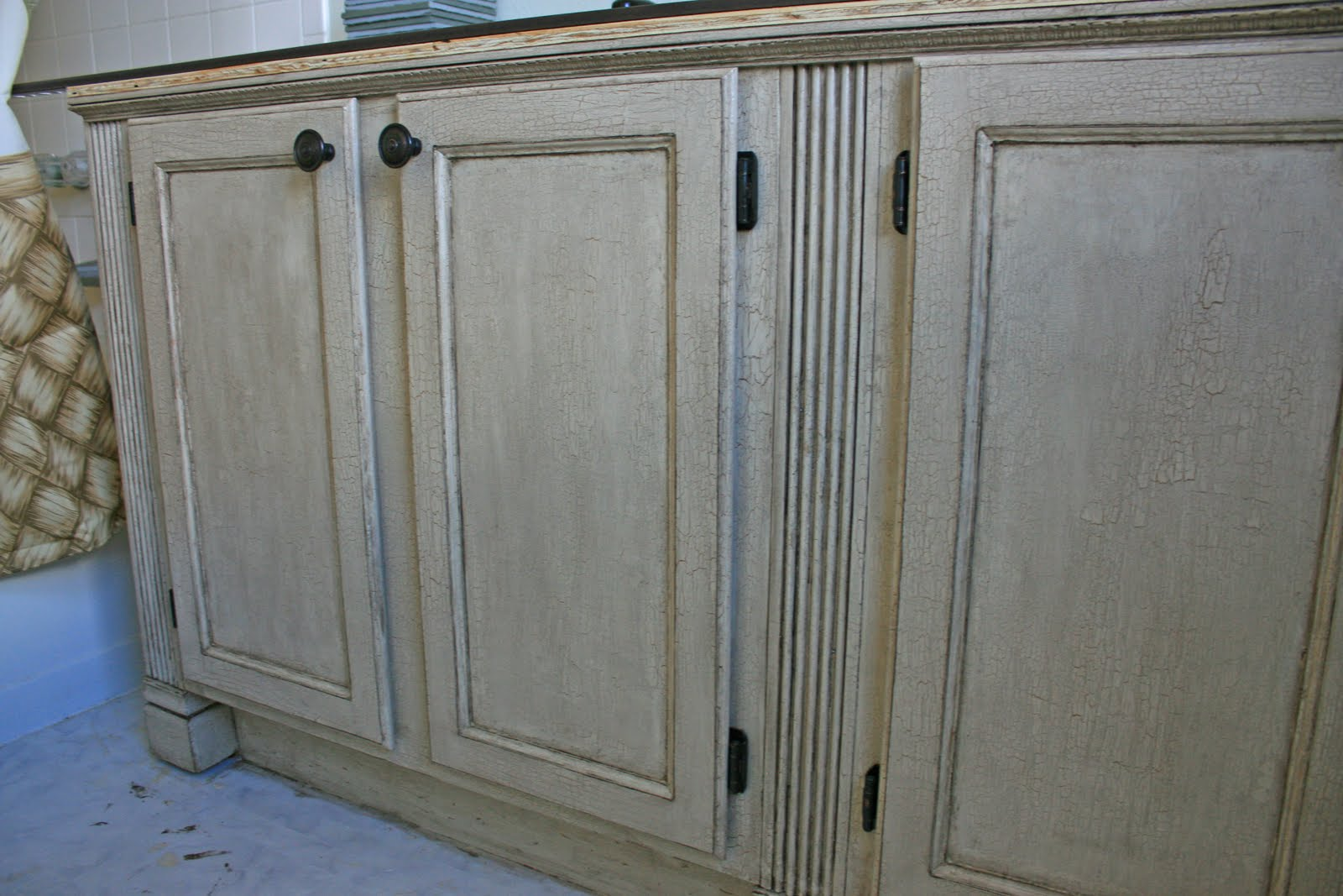 Crackle Paint Kitchen Cabinets Cheap Used Kitchen Cabinets
