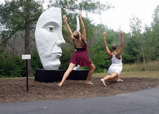 Palladino School of Dance performing at the Sculpture Park in 2015