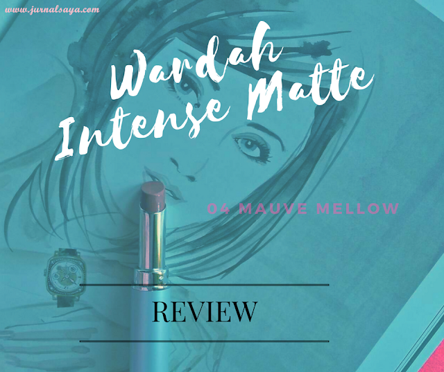 review wardah intense matte lipstick