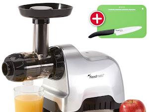 Je découvre l'extracteur de jus Foodmatic personal slow juicer {test produit}