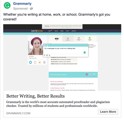 grammarly-facebook-ads