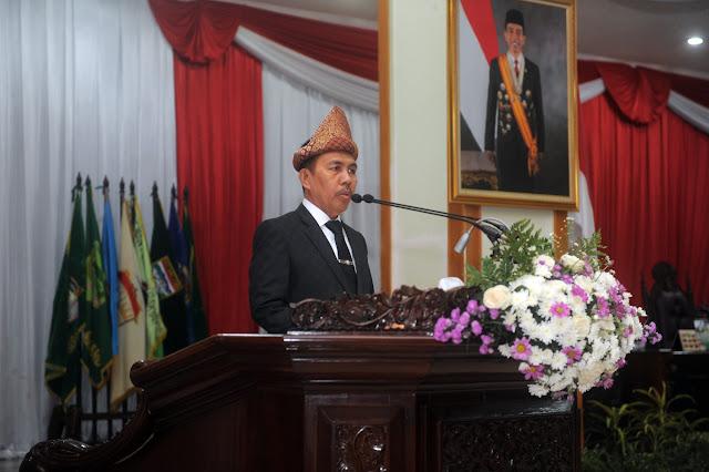 HUT Sumsel ke-71, Ishak Mekki Ajak Gelorakan Semangat Sriwijaya