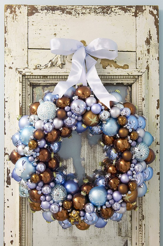 ! Get the directions to make this wreath from Canadian Living here